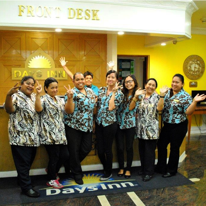 Experienced and enthusiastic staff support - Days Inn Guam hotel